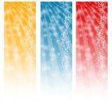Web abstrait de verticale de drapeaux Image libre de droits