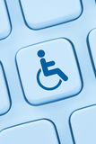 Web accessibility online internet website design computer people Royalty Free Stock Photo