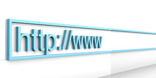 Web Address Stock Photo