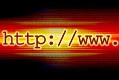 Web-Adresse Lizenzfreies Stockbild