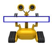 Web-Adressen-Roboter Lizenzfreie Stockfotos