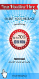 Web Ads Banners. Vector abstract web ads banners. EPS 10 file, contains transparency effects Royalty Free Stock Image