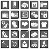 Web advertising icons Stock Images
