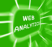 Web Analytics Diagram Displays Collection And Analysis Of Online Royalty Free Stock Photos
