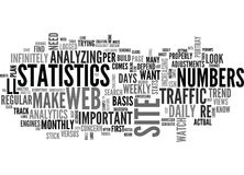 Web Analytics Make A Plan And Stick To Itword Cloud Royalty Free Stock Image