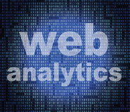 Web Analytics Represents Websites Usage And Online Stock Photography