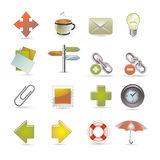Web And Internet Icons Stock Images