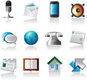 Web Application Icons Royalty Free Stock Photography