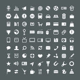 Web application icons collection Stock Photo
