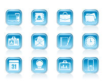 Web Applications,Business and Office icons, Universal icons Stock Photos
