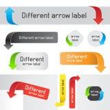 Web arrow pointer Royalty Free Stock Image