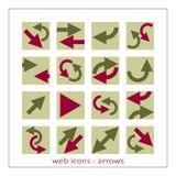 Web arrows Royalty Free Stock Photo