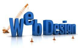 Web-Auslegung Stockfoto