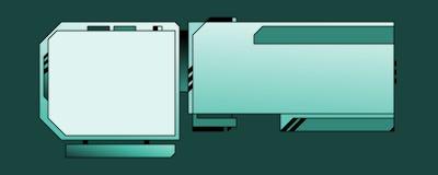 Web-Auslegung-Schablone - 03 - B Lizenzfreie Stockfotos