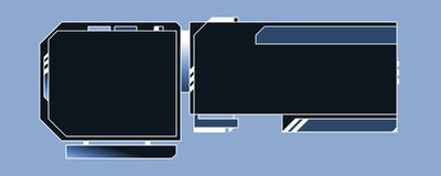 Web-Auslegung-Schablone - 03 - E Lizenzfreie Stockfotos