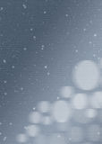 Web background, textures, wallpapers. Wallpapers and backgrounds for websites as sky blue with flakes and light balls Stock Photo