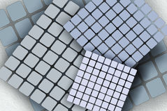 Web background, textures, wallpapers. The basis for the website, with details of squares, mosaic, disort texture Stock Photos