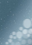 Web background, textures, wallpapers. WEB background for the screen or web site wallpaper, poster with snowflakes flying in Royalty Free Stock Image
