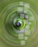 Web backgrounds and textures. Abstract background for a website in the colors green with an interesting addition of purple and yellow Stock Photography