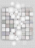 Web backgrounds and textures. Background for website display or textured pastel shades and squares Royalty Free Stock Image