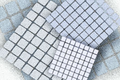 Web backgrounds and textures. The basis for the website, with details of squares Stock Image