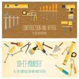 Web banner concept of DIY shop. Stock Photo