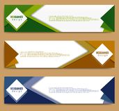 Modern banner template, minimalist banner web template, promotional banner design, abstract banner web backgrounds vector illustration
