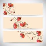 Web banner or header design. Stock Photos