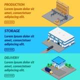 Web banner production. Stock Photos
