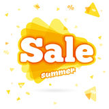 Web Banner sale summer Royalty Free Stock Photography