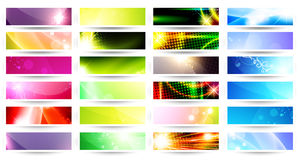Web banner set Royalty Free Stock Photography