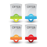 Web banner set Stock Images