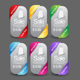 Web Banner Set. This is a Vector web banner set template Stock Image