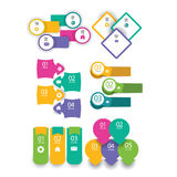 Web banner,stickers,speech bubble,bookmarks,labels,icons collection Royalty Free Stock Images