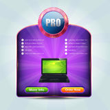 Web Banner Template Vector Design. Vector banner. This file also was saved EPS10 that you can modify it Stock Image