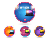 Web Banner Template Vector Design Stock Photography