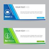 Web Banner Vector Element Design Template Royalty Free Stock Image