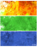 Web banners. Hand-painted background for web stylish banners Royalty Free Stock Image