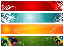 Web Banners Royalty Free Stock Photo