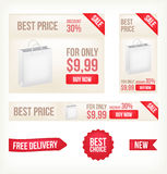 Web banners. Royalty Free Stock Image