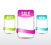 Web banners stock illustration