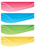 Web banners Stock Image