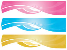 Web banners Stock Images