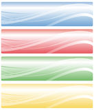 Web banners Royalty Free Stock Photos