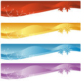 Web banners Stock Photography