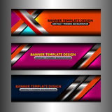 Web Banners Design Stock Photos