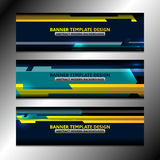 Web Banners Design Royalty Free Stock Photography