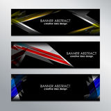 Web Banners Design Stock Images