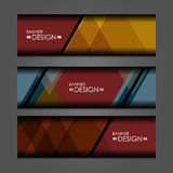 Web Banners Design Royalty Free Stock Photo