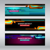 Web Banners Design Stock Image